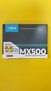 新品未開封 Crucial SSD 1000GB(1TB) MX500