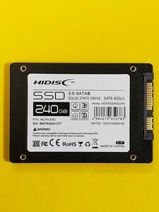 新品未使用 HIDISC SSD 240GB