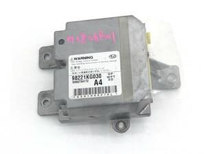 _b71826 スバル ステラ カスタムR DBA-RN1 SRS エアバッグ バック コンピューター 未展開 98221KG030 RN2