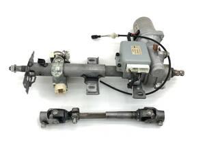 _b71826 スバル ステラ カスタムR DBA-RN1 ステアリングシャフト コラム パワステ モーター キーシリンダー 34500KG021 RN2