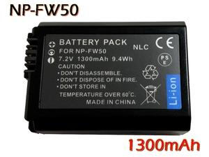 新品 ソニー NP-FW50 互換バッテリー [ 純正充電器で充電可能 残量表示可能 純正品と同じよう使用可能 ] RX10II DSC-RX10M2 α6300 α6000