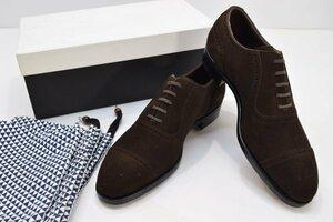 未使用? Martinique マルティニーク 6E ローファー 靴 シューズ メンズ スエード 箱付 ビジネス ファッション スーツ 革 H-139T