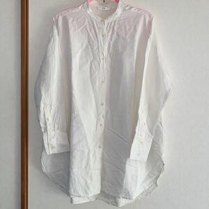 ユニクロ バンドカラーシャツ Mサイズ