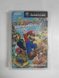 GC21-002 任天堂 ニンテンドー ゲームキューブ GC マリオパーティ7 Mario 人気 シリーズ レトロ ゲーム ソフト 外箱無し