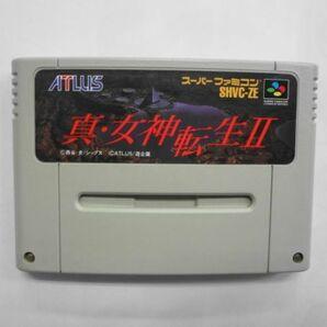 SFC21-014 任天堂 スーパーファミコン SFC 真 女神転生 Ⅱ 2 シリーズ アトラス レトロ ゲーム カセット ソフト