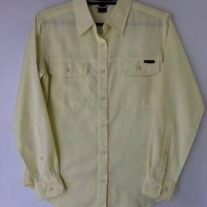 モンベル 長袖シャツ Mサイズ レディース Mont-bell WIC.ブリーズスパン ライトロングスリーブシャツ