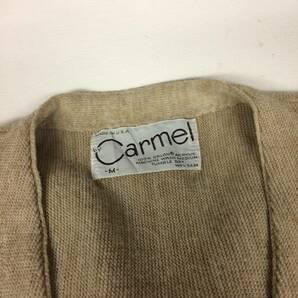 60s 70s USA製 Carmel アクリルカーディガン Mサイズ
