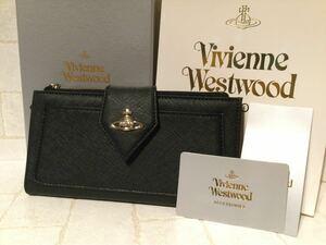 新品 ヴィヴィアン Vivienne Westwood 長財布 ブラック