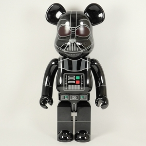 MEDICOM TOY BE@RBRICK DARTH VADER(Rogue One Ver.) Chrome Ver. 1000% ベアブリック 黒 【新品未使用品】