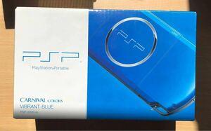 PSP-3000 SONY VIBRANT BLUE 美品