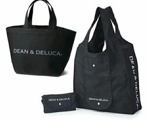 新品 未開封 DEAN & DELUCA ショッピングバッグ& トートバッグ Sセット エコバッグ 折りたたみ 買い物バッグ