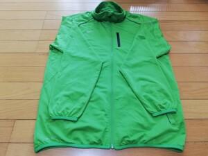ナイキ 長袖シャツ 緑色 トレーニングウェア