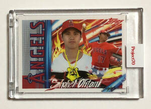 Topps Project 70 ★ Shohei Ohtani 大谷翔平 #450 ★ Angels エンゼルス ★ by King Saladeen