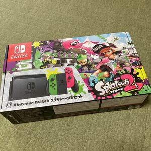 ニンテンドースイッチ スプラトゥーン2 外箱のみ Nintendo Switch スプラ