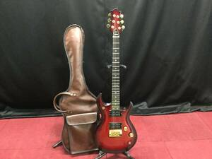 YAMAHA YSG ヤマハ 日本製 エレキギター シリアルNo.8125033 赤系 ソフトケース付き★現状品