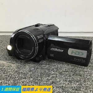 Victor GZ-HD3-B HDDカメラ Hi-Vision 200X ZOOM 撮影確認済●1週間保証【福岡】
