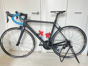 【走行距離浅】【美品】 SCOTT ロードバイク ブラック×ブルー
