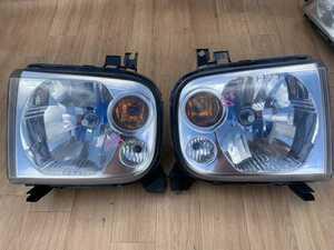 15 スズキ アルトラパン HE21S  マツダ HF21S スピアーノ 左右 ヘッドライト ヘッドランプ 左右