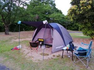 テント ドーム型テント ファミリーキャンプ