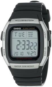 [メール便][逆輸入品] W96H-1A 腕時計 デジタル メンズ 海外モデル チープカシオ チプカシ スタンダード W-96H-1A CASIO カシオ