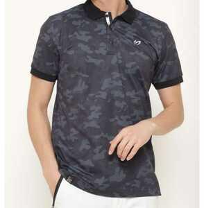 新品正規品 マスターバニー パーリーゲイツ サイズ3 プライムフレックス 高機能 ポロシャツ カモフラ 21モデル シワになりにくい