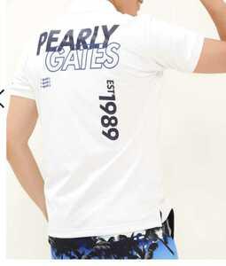 超美品正規品 試着のみ パーリーゲイツ サイズ6 21モデルの最新作 完売モデル ホワイト 高機能 ポロシャツ 送料無料