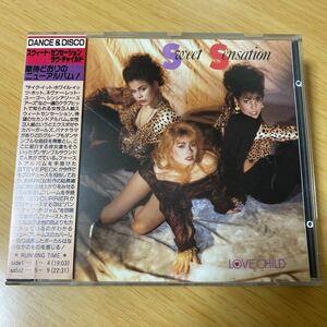 【激レア】CD Sweet Sensation / Love Child 日本盤 スウィート センセーション avex trax版
