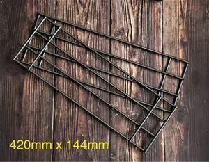 ダッチオーブン用アイアンロストルスリム 420mm x 144mm 2枚組