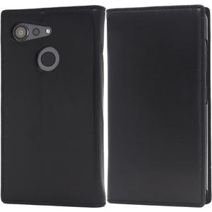 黒 羊本革■ Android One S6/GRATINA (KYV48) 用手帳型ケース■シープスキンレザー スマホ 保護 カバー 薄型 スリム アンドロイドワンS