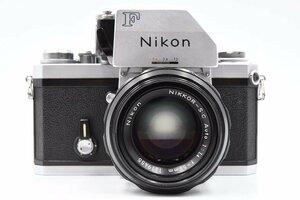 Nikon ニコン F フォトミックFTN 733万台 + 非AI NIKKOR-S・C Auto 50mm F1.4 フィルムカメラ MF一眼レフ 標準単焦点レンズ セット