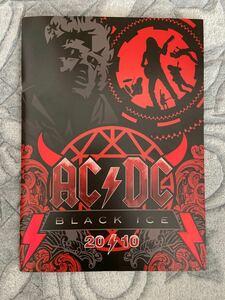 AC/DC 2010年来日公演 ツアーパンフ