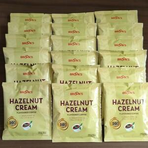 ブルックス フレーバーコーヒー ヘーゼルナッツクリーム 10g×18袋