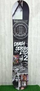 スノーボード 板 DEATHLABLE DEATH SERIES LTD2 13-14 デスレーベル デスシリーズ リミテッド 153cm スノボ