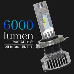 H4対応 LED電球 三菱 ディオン 型式CR5W/CR6W/CR9W ヘッドライト用 左右セット送料無料(一部除く)