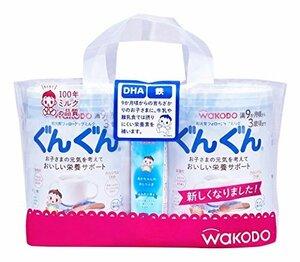 830g×2缶(おまけ付き) 和光堂 フォローアップミルク ぐんぐん 粉ミルク [満9ヶ月頃から3歳頃] 830g×