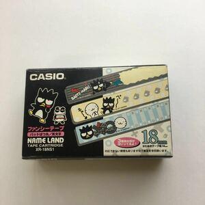 ファンシーテープ ネームランド用 バツ丸 CASIO インクリボンカセット カシオネームランドテープ