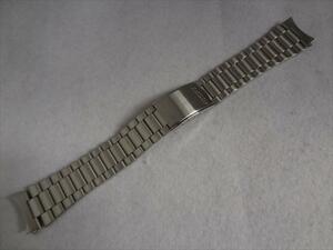 Seiko 純正 19mm ステンレスベルト 7S26-3040,7S26-0480,SNX801,SNXS79用 腕時計バンド
