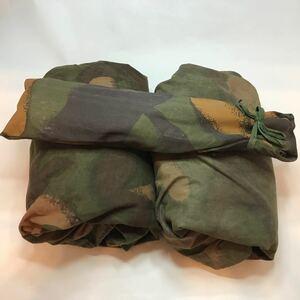 ハンガリー軍 テント一式 軍放出品 ハンガリーテント HG16 ソロキャンプ ポンチョ 官給放出品