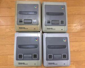 スーパーファミコン 本体のみ 4台 ジャンク sfc