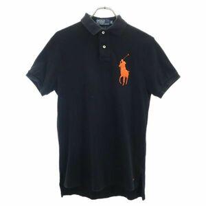 ポロバイラルフローレン ワンポイント刺繍 半袖 ポロシャツ XS Polo by Ralph Lauren 鹿の子 ビッグポニー メンズ 210828 メール便可
