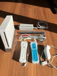 ニンテンドー 任天堂 Wii セットソフト7本付き 完動品 まとめてどうぞ 街もり 太鼓 スポーツ パーティー他