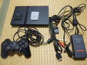 ★動作確認済 PS2本体(SCPH-70000)、メモリーカード、ソフト付き★