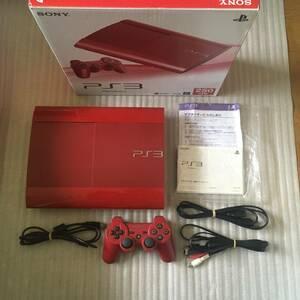 ps3 本体一式 CECH-4000B GA ガーネットレッド 箱説明書 PlayStation3 プレステ3 プレイステーション3 匿名配送