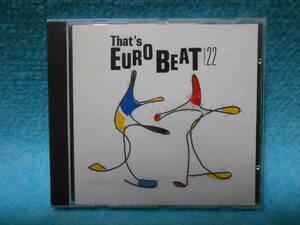 CD That's EUROBEAT VOL.22