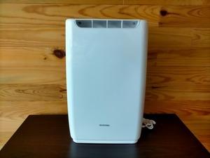 美品◎アイリスオーヤマ 除湿機 DDB-20 衣類乾燥 強力除湿 除湿器 タイマー付 静音設計 除湿量 2.0L 家電