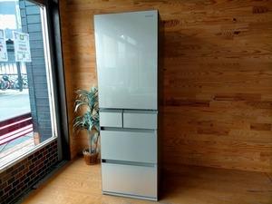未使用◎Panasonic パナソニック 冷凍冷蔵庫 NR-E457PX-N 450L 冷凍125L 冷蔵325L 5ドア 家電