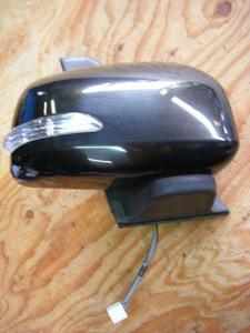 平成22年 タント カスタム DBA-L375S 純正 ウィンカー電動右ドアミラー X06