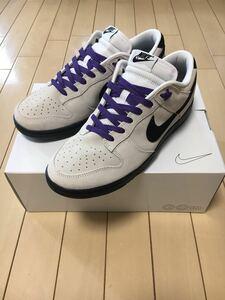 【新品未使用】27cm Nike Dunk Low By You US9 ナイキ ダンク ロー バイユー スニーカー 靴 白 黒 紫 White Black Purple US9