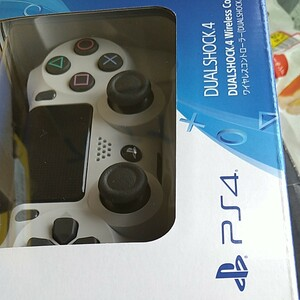 デュアルショック4 ワイヤレスコントローラー DUALSHOCK4 SONY PS4 グレイシャーホワイト 未開封