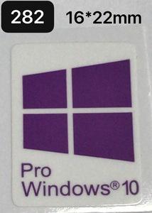282# будущее поколение [Windows 10 PRO] эмблема наклейка #16*22.# условия имеется бесплатная доставка